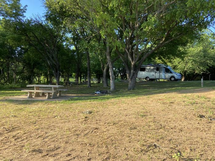 A photo of Site 17 of Loop BCRC at BEAR CREEK COVE with Electricity Hookup, Waterfront, Water Hookup