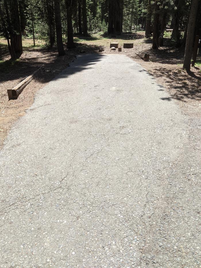 Little Beaver Site #58 Photo 2Alternate view of site #58 parking parking spur