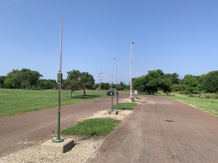 Dump Station at the main entrance in Bloomington East Park