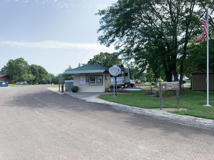 Gate Attendant Booth in Cedar Ridge Campground Gate Attendant Booth located in Cedar Ridge Campground