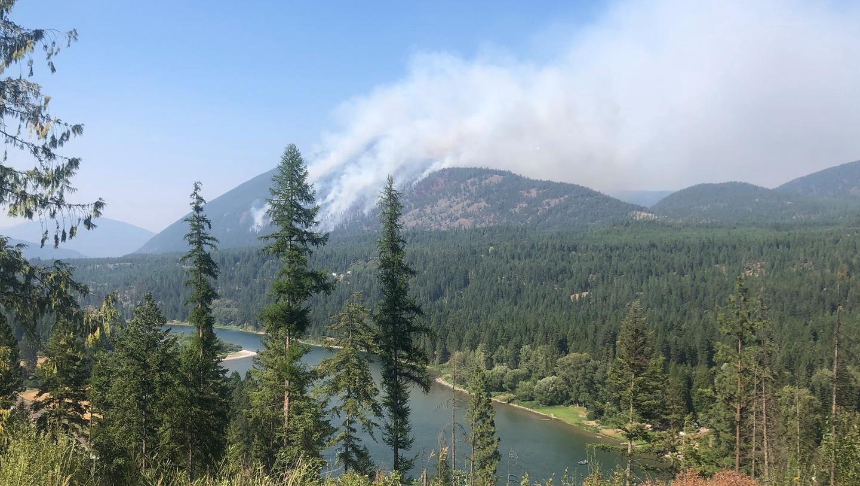 South Yaak Fire 7/24/21
