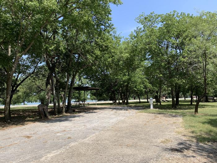 A photo of Site 023 of Loop PPAT at Holiday (Texas) with Picnic Table, Electricity Hookup, Water Hookup