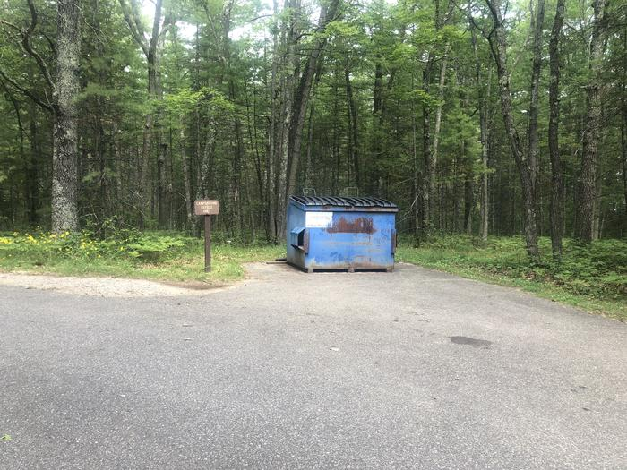 A photo of facility ROUND LAKE with No Amenities Shown  Dumpster