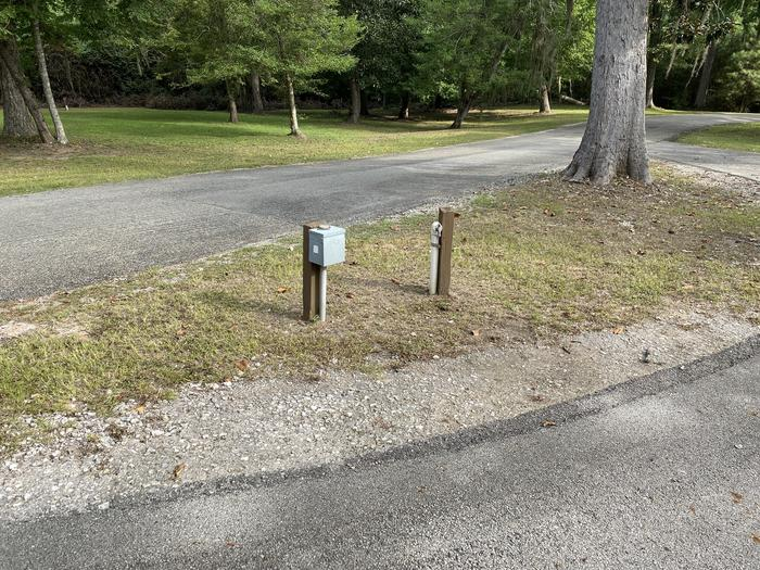 A photo of Site 09 of Loop MAGNOLIA RIDGE  at MAGNOLIA RIDGE with Electricity Hookup, Water Hookup