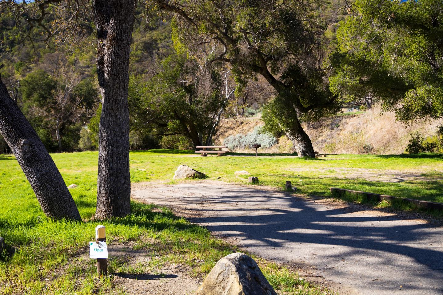 A photo of Site 11 of Loop UPPE at UPPER OSO CAMPGROUND