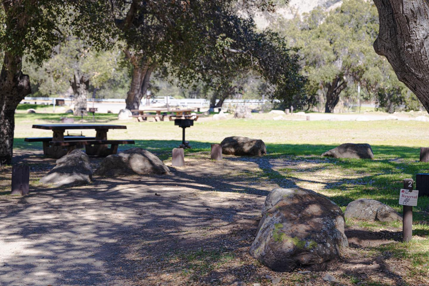 A photo of Site 002 of Loop AREA PARADISE at PARADISE CAMPGROUND with Picnic Table
