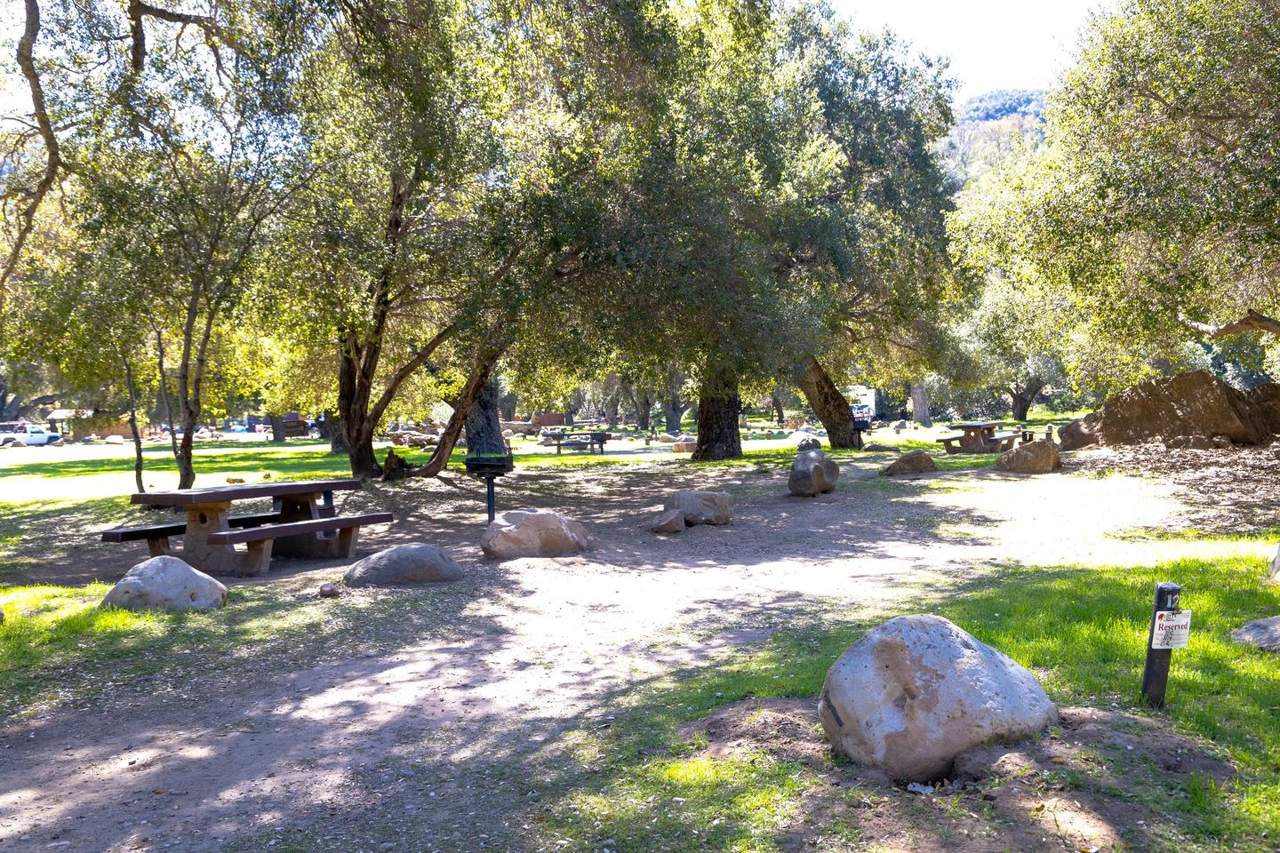 A photo of Site 012 of Loop AREA PARADISE at PARADISE CAMPGROUND with Picnic Table