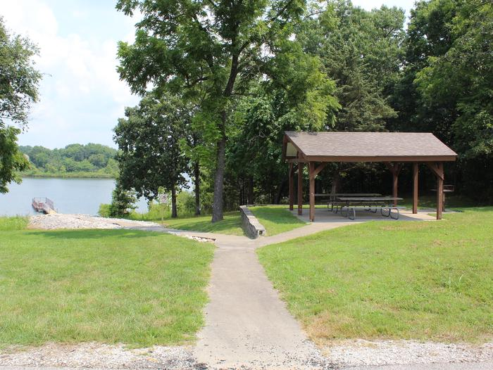 Crabtree Cove Fishing Dock and Picnic Shelter