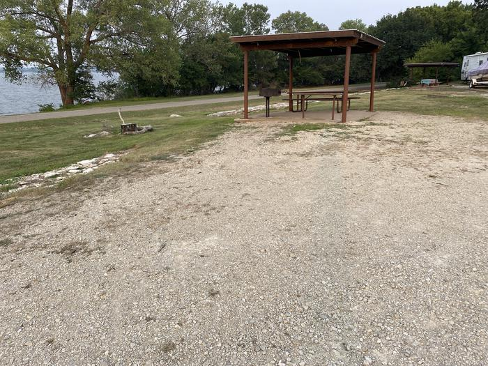 A photo of Site 24 of Loop CCRE at CANNING CREEK with Picnic Table, Electricity Hookup, Fire Pit, Shade