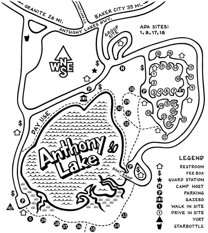 Map fullFull Map of Anthony Lake