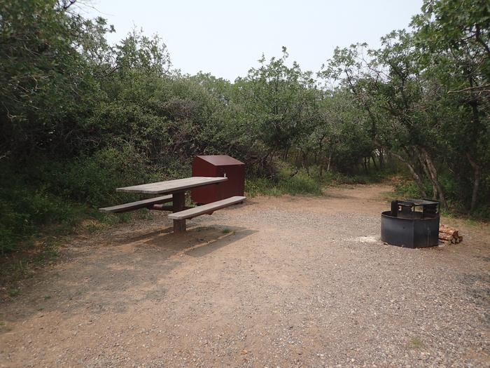 Social space for Campsite A-002