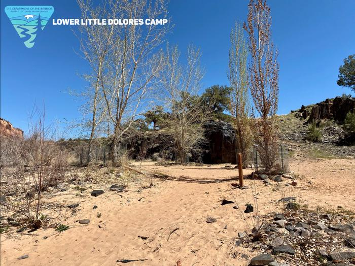 Lower Little Dolores Camp, river leftLower Little Dolores Camp