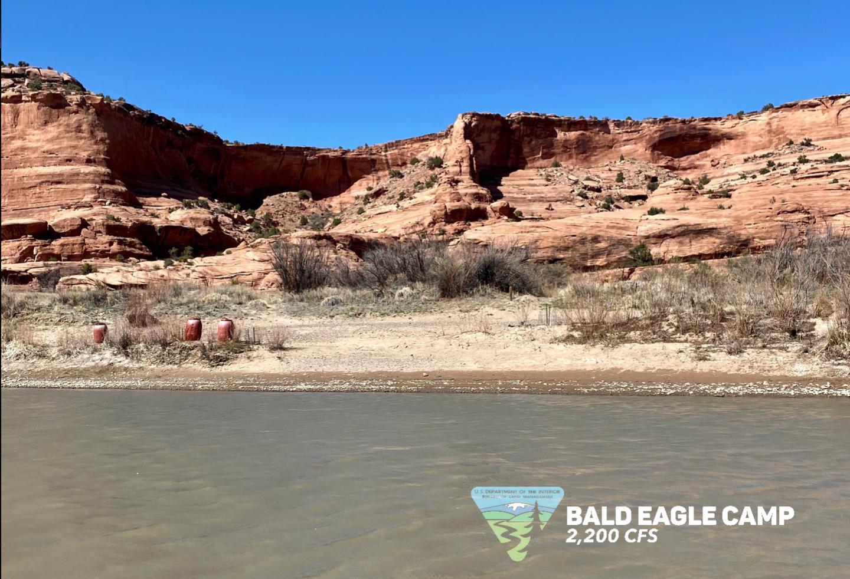 Bald Eagle Camp, river rightBald Eagle Camp