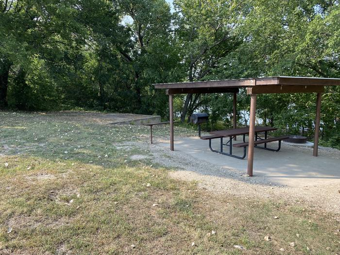 A photo of Site 37 of Loop CCRE at CANNING CREEK with Picnic Table, Fire Pit, Shade, Tent Pad, Waterfront