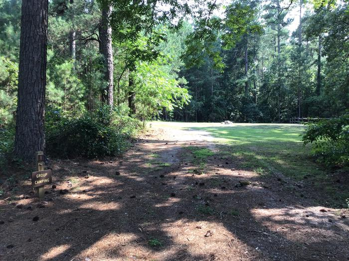 A photo of Site Site 01- Group site at Sedalia Campground with a fire pit and plenty of shade.A photo of Site Site 01- Group site at Sedalia Campground (SC) with Fire Pit and plenty of shade. A large camping group site that allows room to spread out.