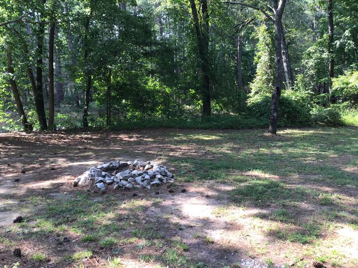 A photo of Site Site 04 of Loop Year round at Sedalia Campground (SC) with Fire Pit, Shade