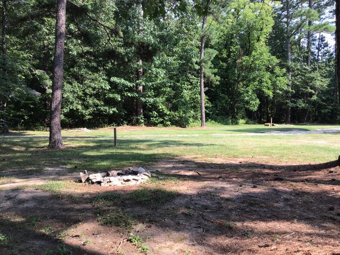 A photo of Site Site 03 of Loop Year round at Sedalia Campground (SC) with Fire Pit, Shade