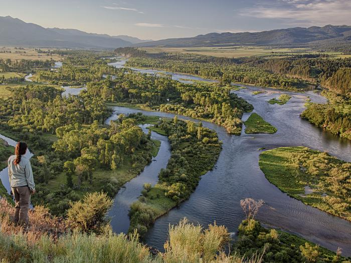 Preview photo of South Fork of the Snake River - Twin Bridges