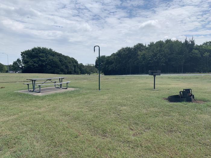 A photo of Site 105 of Loop HICKORY CREEK at HICKORY CREEK with Picnic Table, Fire Pit, Lantern Pole