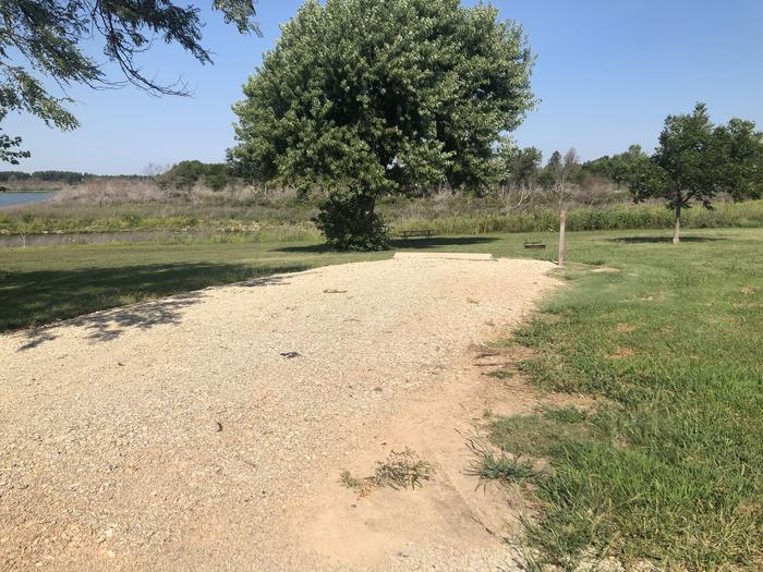 A photo of Site 2 of Loop A at School Creek Camground with Picnic Table, Fire Pit, Shade