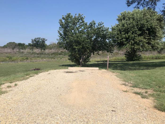 A photo of Site 3 of Loop A at School Creek Camground with Picnic Table, Fire Pit, Shade