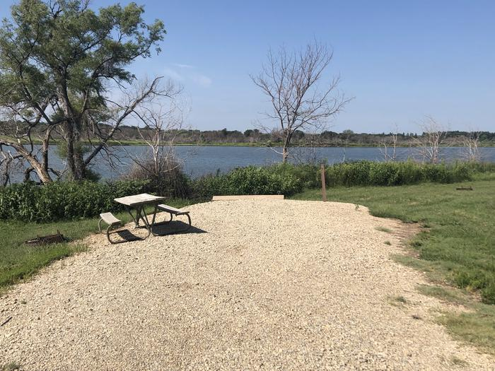 A photo of Site 8 of Loop A at School Creek Camground with Picnic Table, Fire Pit