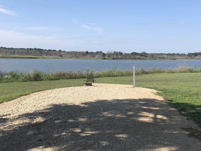 A photo of Site 6 of Loop A at School Creek Camground with Picnic Table, Fire Pit, Shade