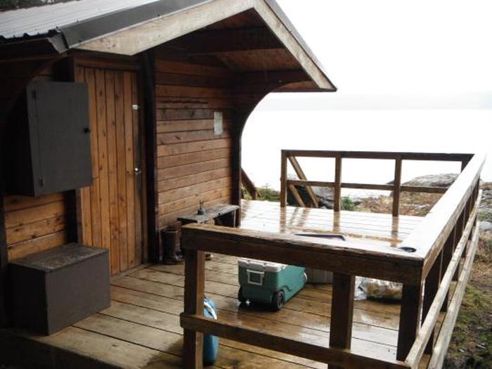 Cabin ExteriorDeck of cabin