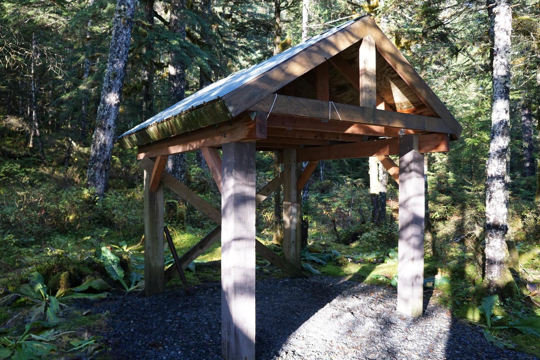 Pigot Bay Cabin Wood ShedWood Shed