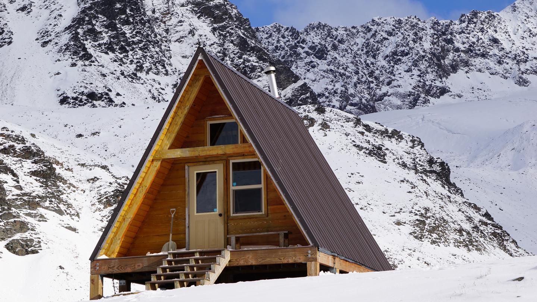 Cabin in WinterCabin in the winter