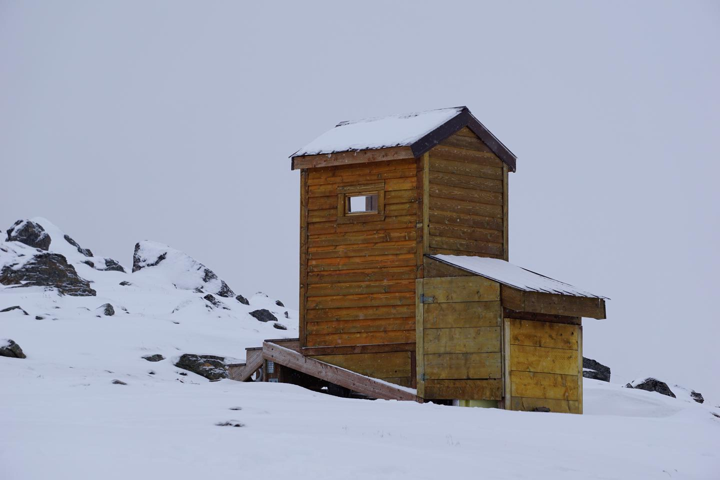 Cabin OuthouseOuthouse in the winter