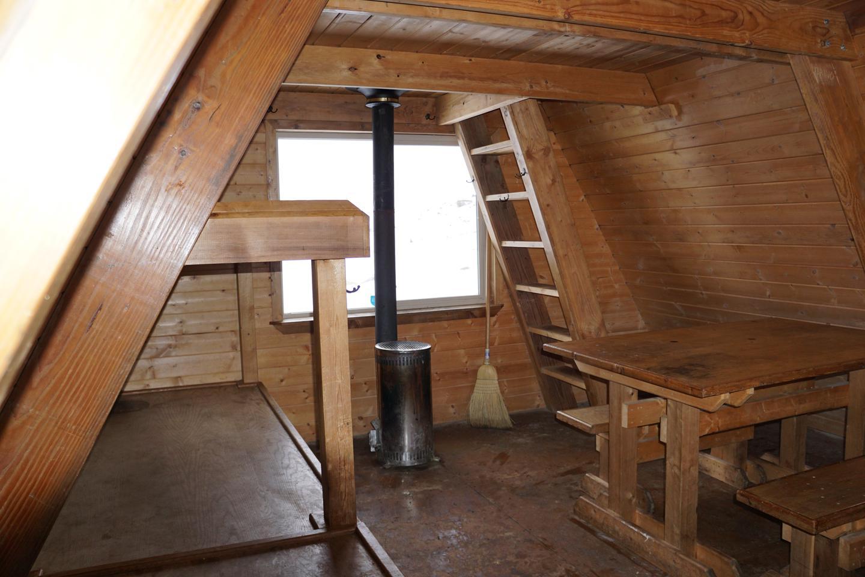 Cabin Interior 3Interior with stove