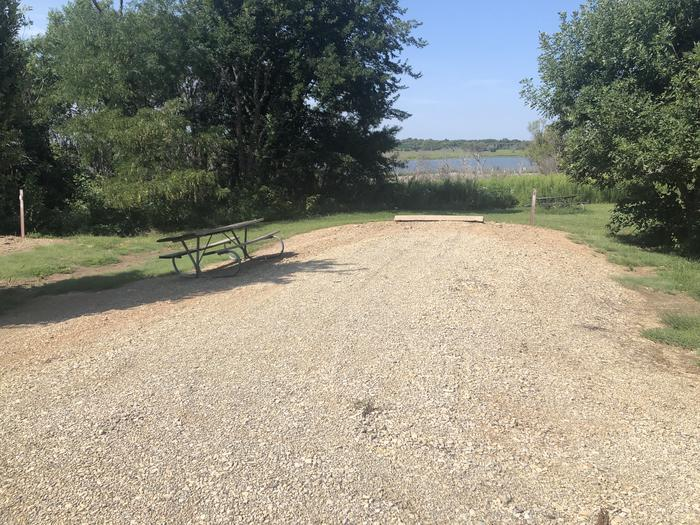 A photo of Site 5 of Loop B at School Creek Camground with Picnic Table