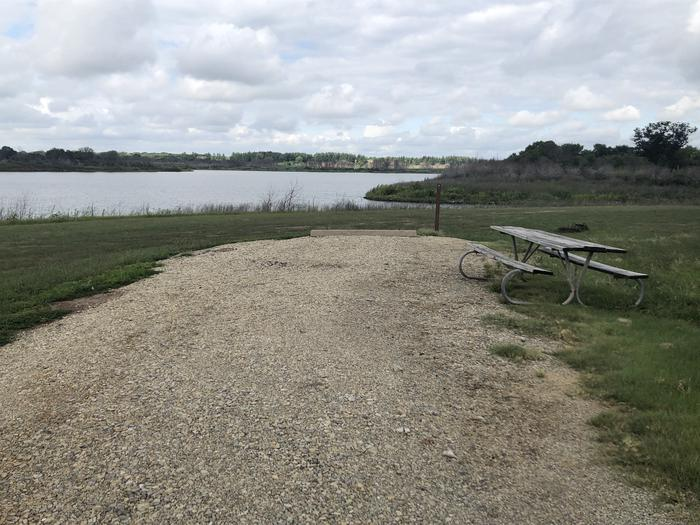 A photo of Site 4 of Loop A at School Creek Camground with Picnic Table, Fire Pit