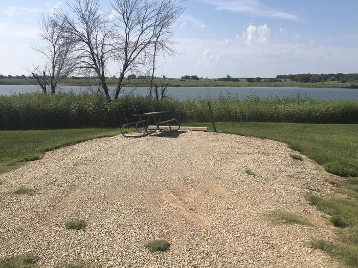 A photo of Site 13 of Loop A at School Creek Camground with Picnic Table, Fire Pit