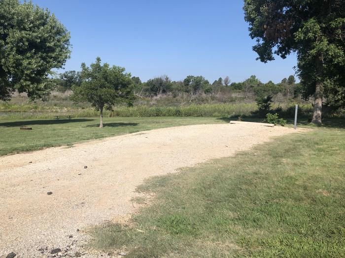 A photo of Site 1 of Loop A at School Creek Camground with Picnic Table, Fire Pit, Shade