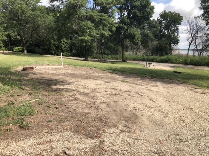 A photo of Site 9 of Loop B at School Creek Camground with Picnic Table, Fire Pit