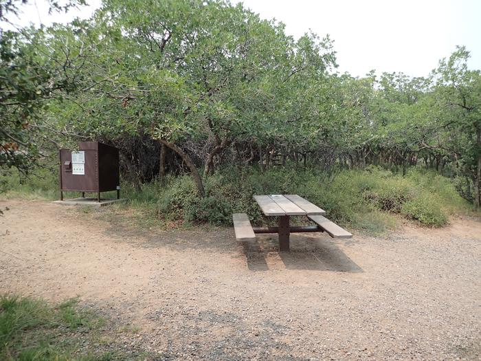 View of Campsite A-006