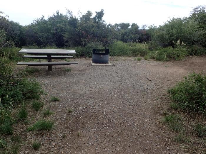 View of Campsite A-012
