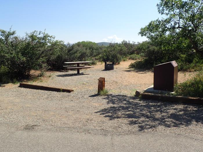 View of Campsite A-015