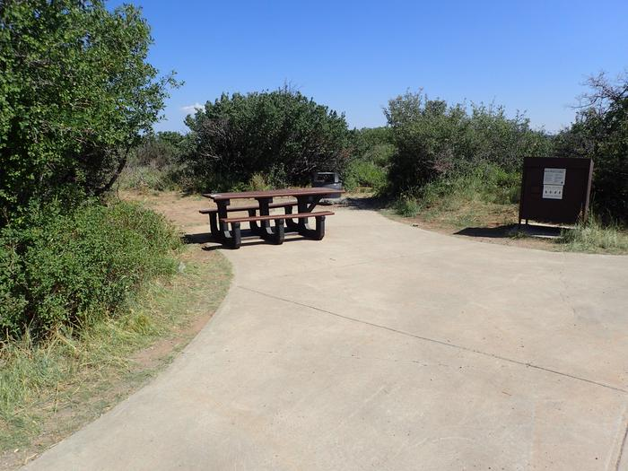 View of Campsite A-021
