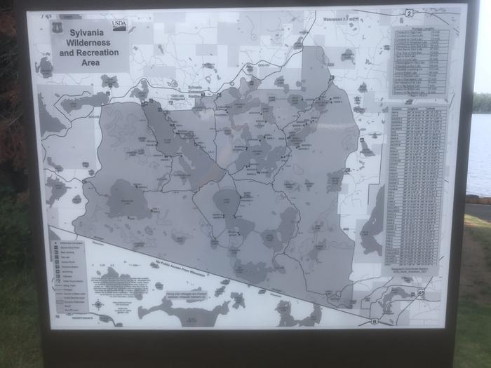 Wilderness/Rec Area Map