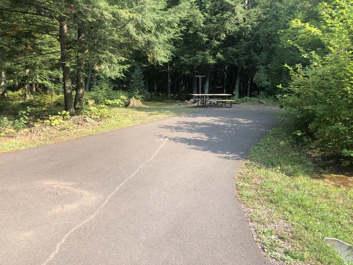 A photo of Site 023 of Loop 2 at Sylvania (Clark Lake) Campground with Picnic Table
