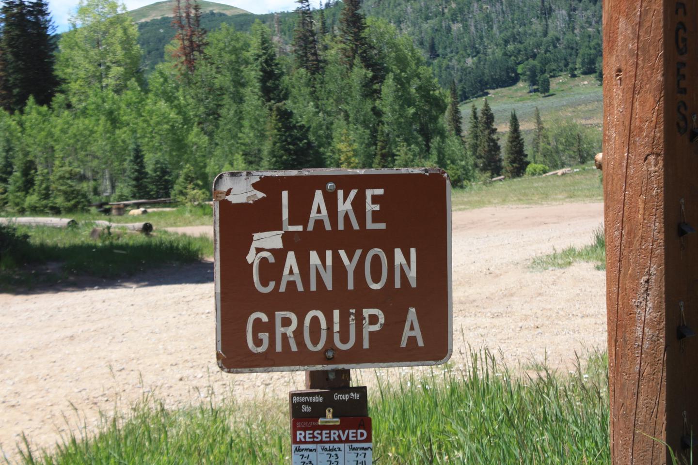 Lake  Canyon Campground -  Lake Canyon Group Site  ALake Canyon Campground -  Lake Canyon Group Site  A