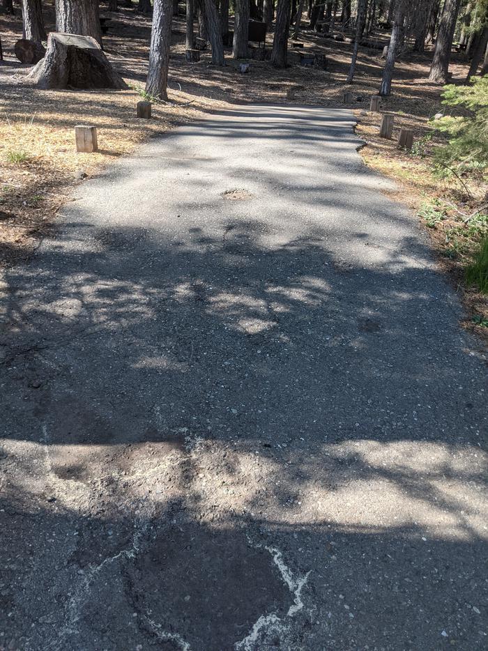 Little Beaver Site #8 Photo 2Site #8 parking spur