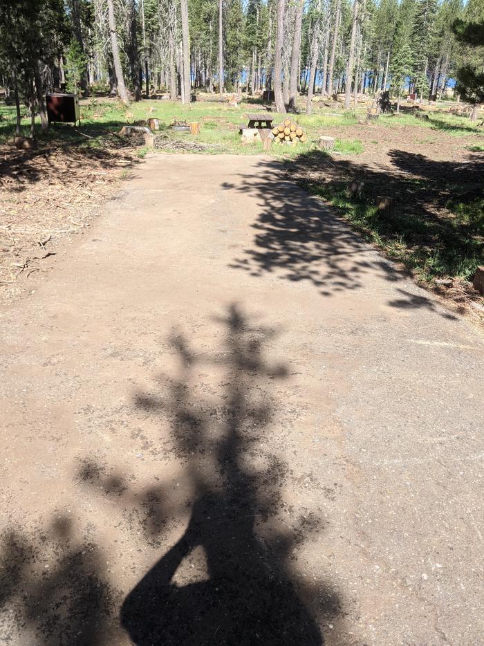 Little Beaver Site #9 Photo 1Site #9 parking spur