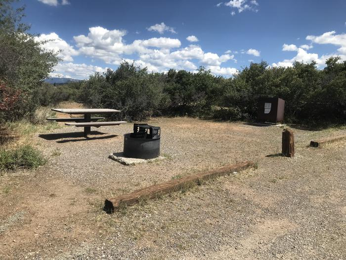 View of Campsite A-017