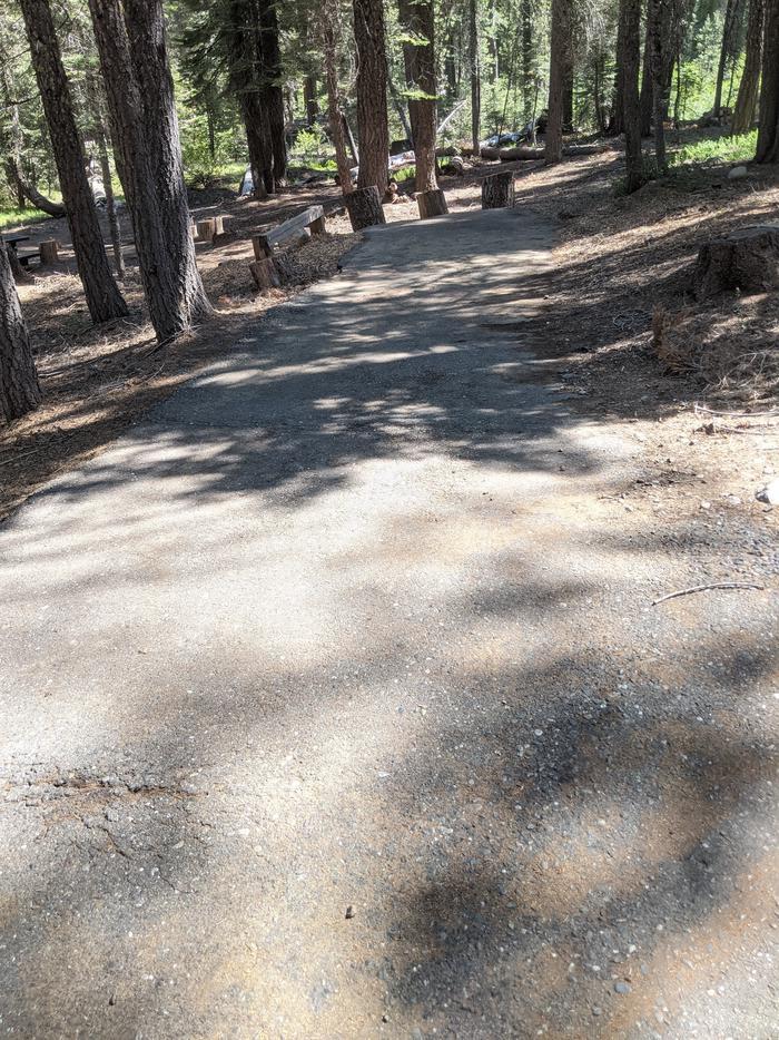 Little Beaver Site #20 Photo 1Site #20 parking spur