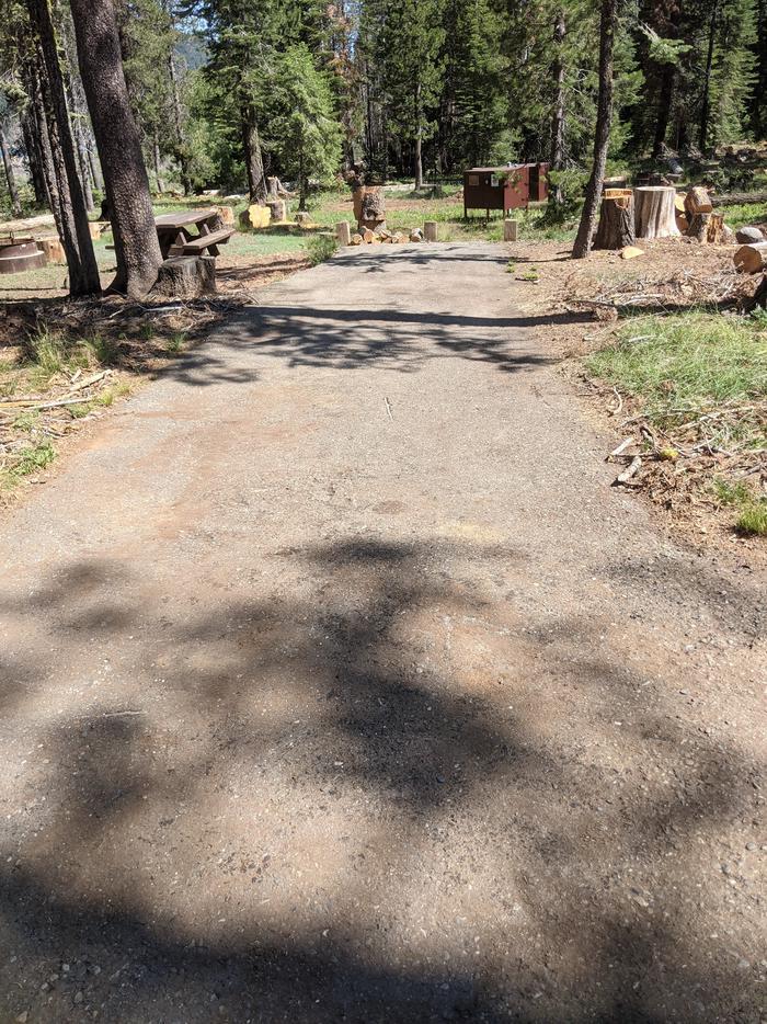 Little Beaver Site #28 Photo 1Site #28 parking spur