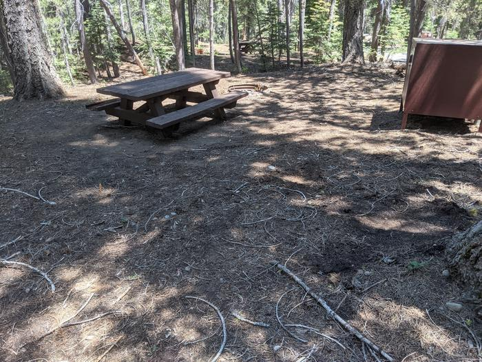 Little Beaver Site #79 Photo 3Site #79 with bear box, picnic table, and fire ring in view